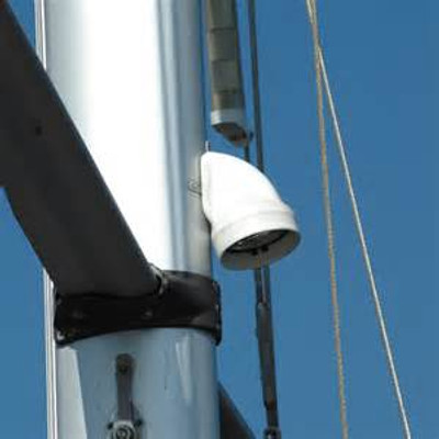 Mast Mounted LED Deck Light on a large mast