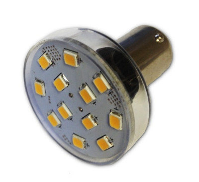 12-LED Bayonet Reader Bulb Replacement (BA-15-12X)