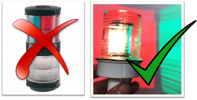 Smart LED Tri-Color, Anchor Light, and Strobe (N3-TRI-CMB)