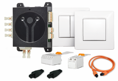 Scheiber Light Air Switch energy-harvesting dimmer and lighting control for LED lights