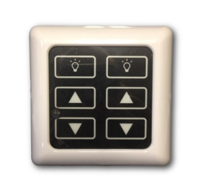 12-24VDC High Line Dimmer Switch for LED Puck Lights (DM-RF-AA)