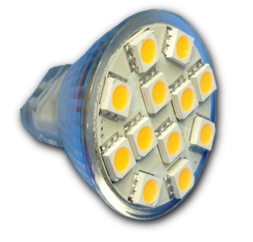 12-LED MR11 Replacement Bulb - Power Cluster (MR11-12)