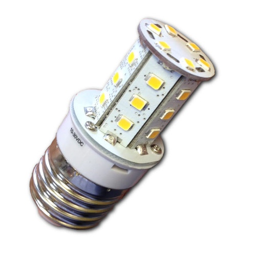 Edison E36 3W 12V/24V LED Bulb without Globe