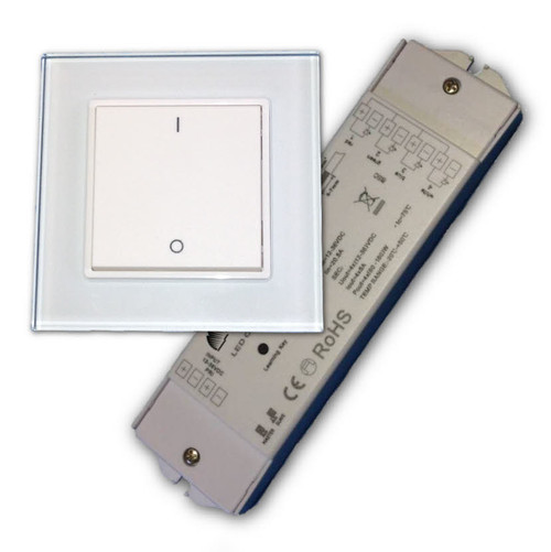 Wireless Wall Switch LED Dimmer and Switching System