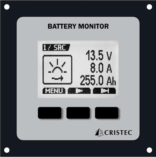 Cristec Battery Monitor for Boats