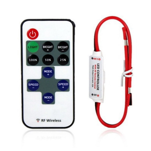 LED remote control dimmer - Single Color