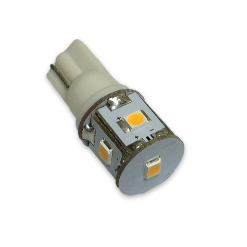 Compact wedge LED bulb for boats
