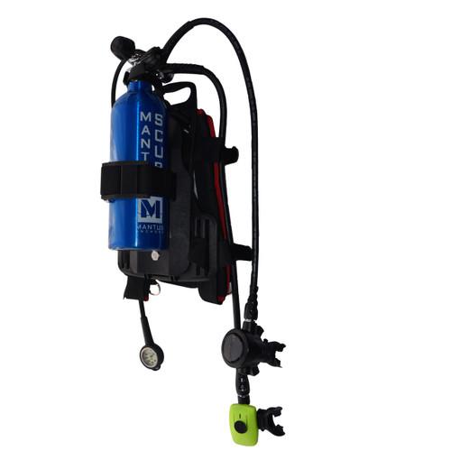 Mantus portable scuba setup for boaters