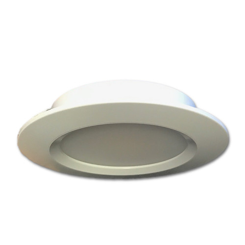 LED 12V Downlight ceiling fixture for Boats. Warm White LED with 10-30V input. 12v or 24V.