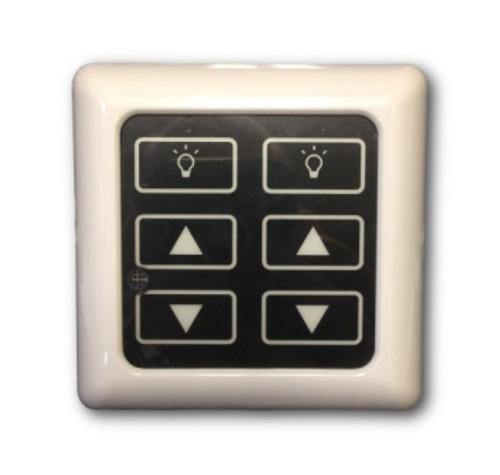 12-24VDC High Line Dimmer Switch for LED Puck Lights (DM-RF-AA)
