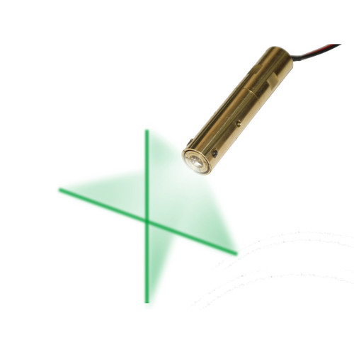 Green Cross-Line Laser Module Wavelength: 532 nm, VLM-532-47 LPT