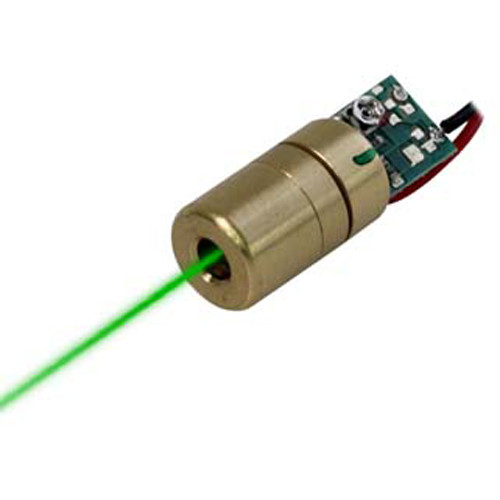 VLM-520-02 LPA Adjustable INDUSTRIAL USE DIRECT GREEN DOT LASER MODULE