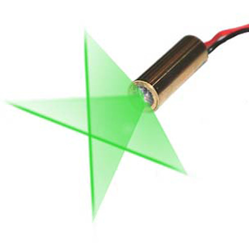VLM-520-29 LPT GREEN CROSS LINE LASER MODULE