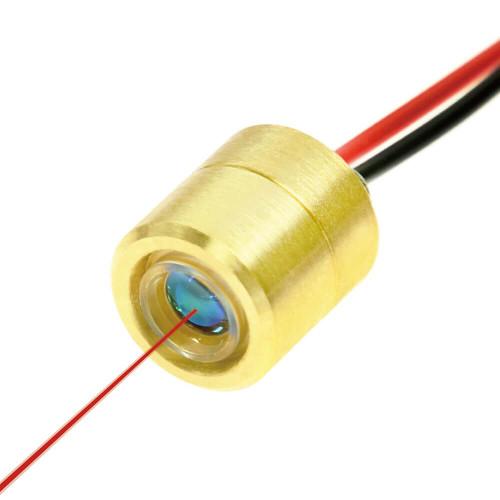VLM-635-63-LPO-100, Mini Dot Size Red Laser Module