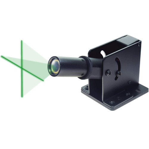 Green Laser Cross Line Generator, Class II, 520nm, INFINITER ML-300