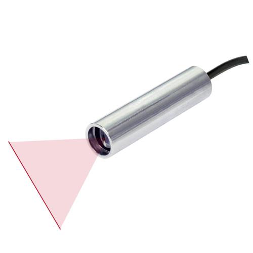 Quarton VLM-635-56 LPO-D60 & VLM-635-56 LPT-D60 Red Line Laser Module Fan Angle 60° Uniform Line, Wavelength: 635nm