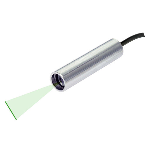 Quarton VLM-520-56 LPO-D20 & VLM-520-56 LPT-D20 Green Line Laser Module Fan Angle 20° Uniform Line, Wavelength: 520nm