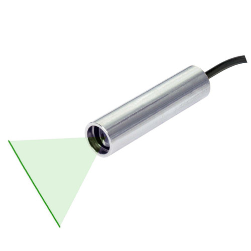 Quarton VLM-520-56 LPO-D60 & VLM-520-56 LPT-D60 Green Line Laser Module Fan Angle 60° Uniform Line, Wavelength: 520nm