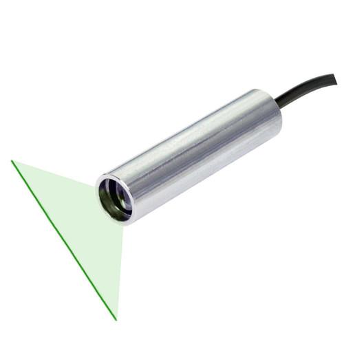 Quarton VLM-520-57 LPO-D110 & VLM-520-57 LPT-D110 Green Line Laser Module with TTL Function Fan Angle 110° Uniform Line, Wavelength: 520nm