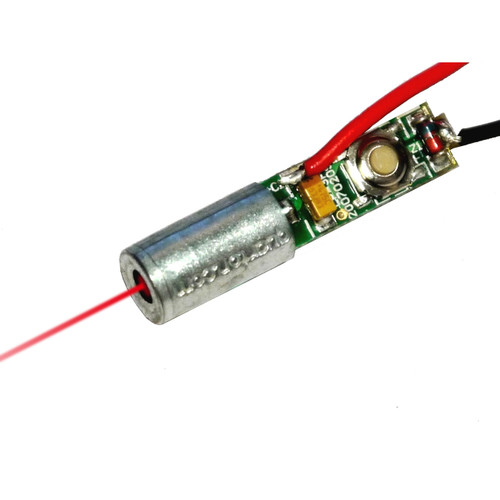 ECONOMICAL RED DOT LASER, Wavelength: 635nm, VLM-635-05 LPA