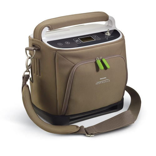 SimplyGo Portable Oxygen Concentrator with 2 Batteries by Respironics 1068987