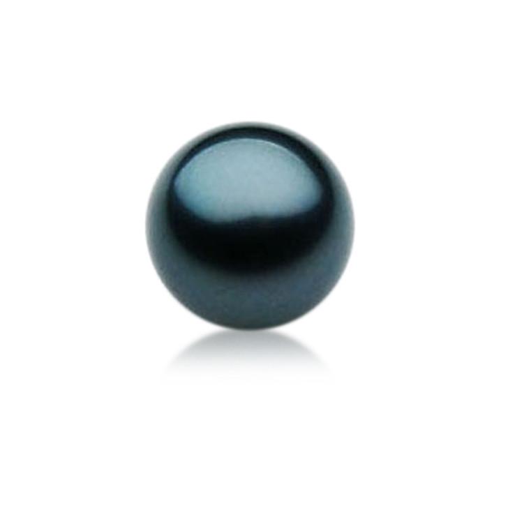 TL005 (AAA 12mm Tahitian Black pearl Loose Pearl )