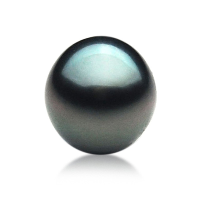 TL020 (AA 10.3 mm Tahitian Black pearl Loose Pearl )