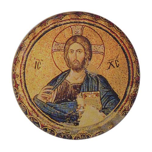 Christ the Teacher Magnet (round)