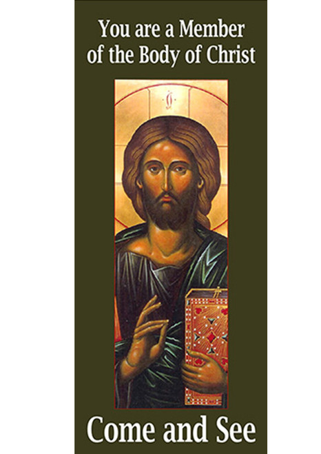 Come and See: You are a Member of the Body of Christ Pamphlet (Set of 10)
