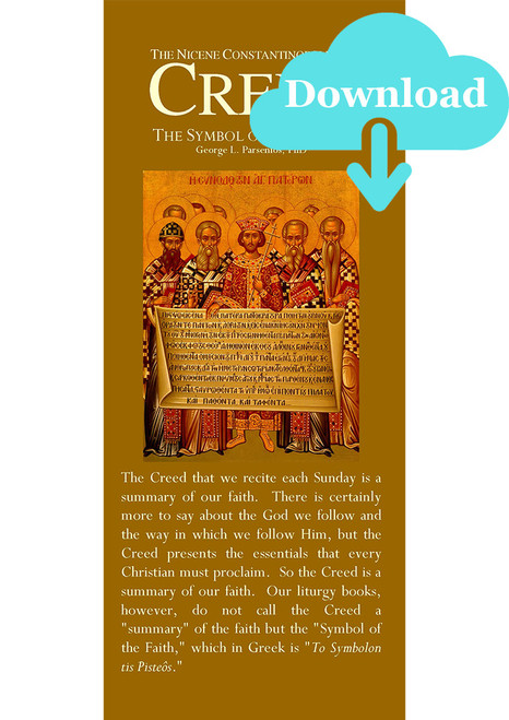 The Nicene Creed - Digital Download