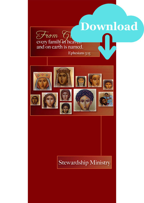 From God, Every Family in Heaven and on Earth is Named Pamphlet - Digital Download
