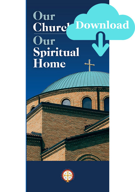 2022 Stewardship Pamphlet: Our Church, Our Spiritual Home Pamphlet - Digital Download