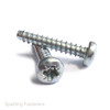 No.4 None Pointed B Type Pan Pozi BZP Self Tapping Screws