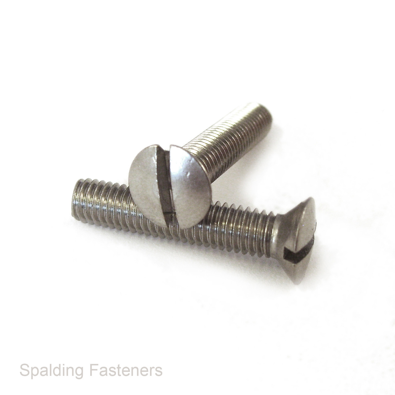 2BA 25mm Slotted round head machine bolt screws with nuts Pack of 25!