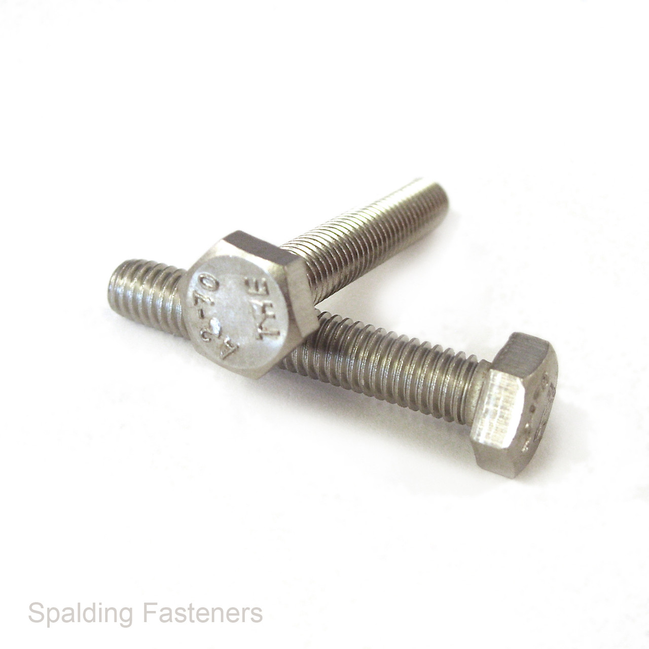 M6 x 16mm HEXAGON HEAD FULLY THREADED SET SCREWS ZINC PLATED BOLTS DIN 933