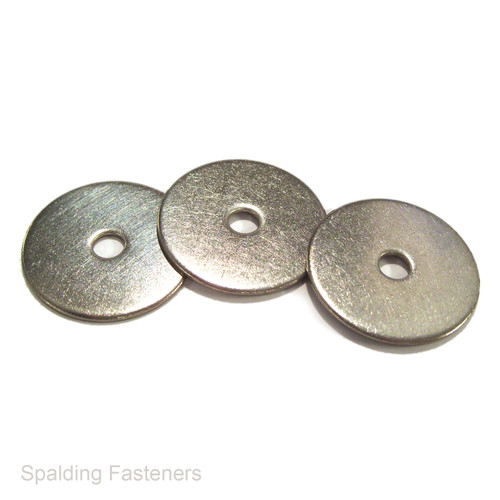 Metric A4 Marine Grade Stainless Steel Flat Penny Repair Washers - M4 to M8