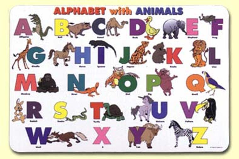 Placemat ABC Animals