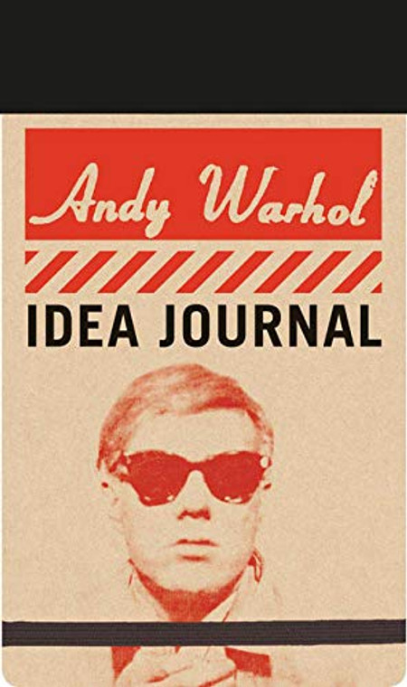 image of front cover of journal with photo of Andy Warhol in dark glasses.