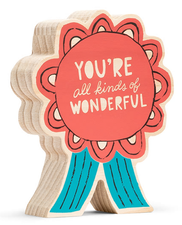 You're All Kinds of Wonderful Wooden Art