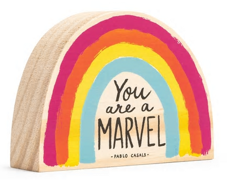 You Are a Marvel Wooden Art