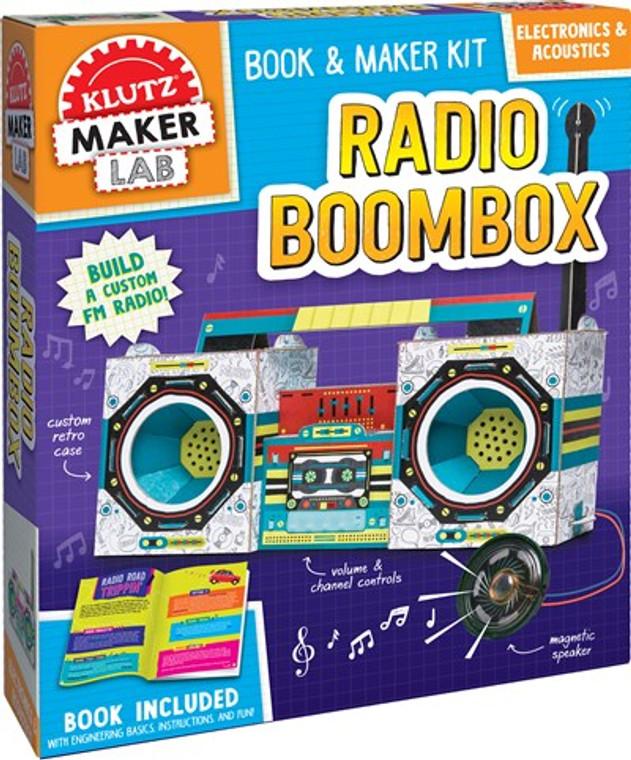 Klutz Radio Boombox