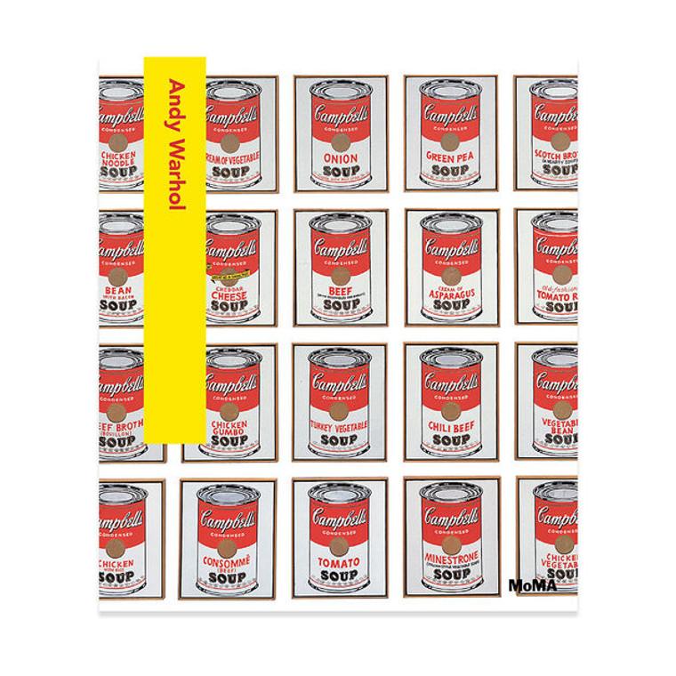 Andy Warhol MoMa Hardcover