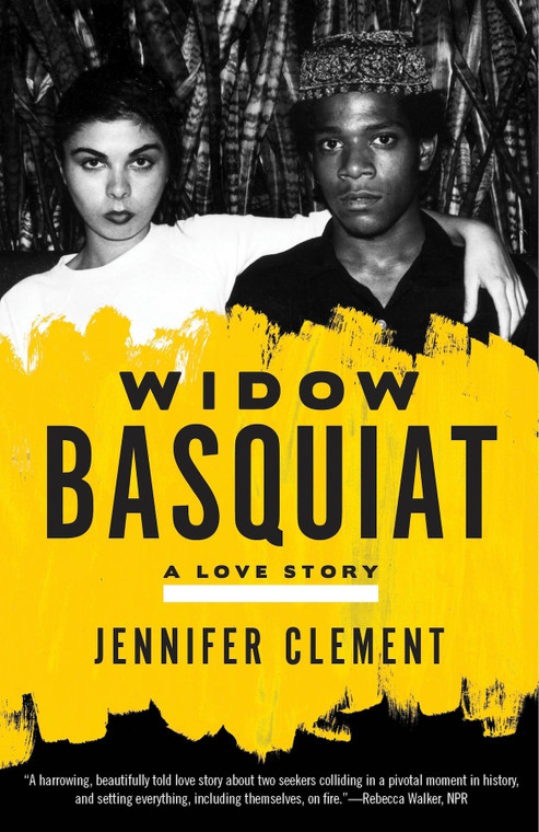 image of a yellow book cover with a black and white photo of a couple and the title of the book in a black font.