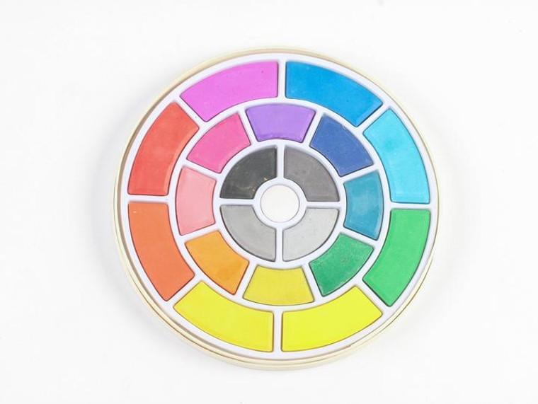 Color Wheel Watercolor Set