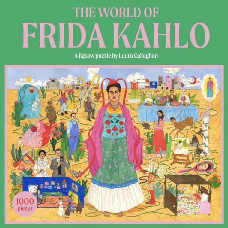The World of Frida Kahlo Jigsaw Puzzle