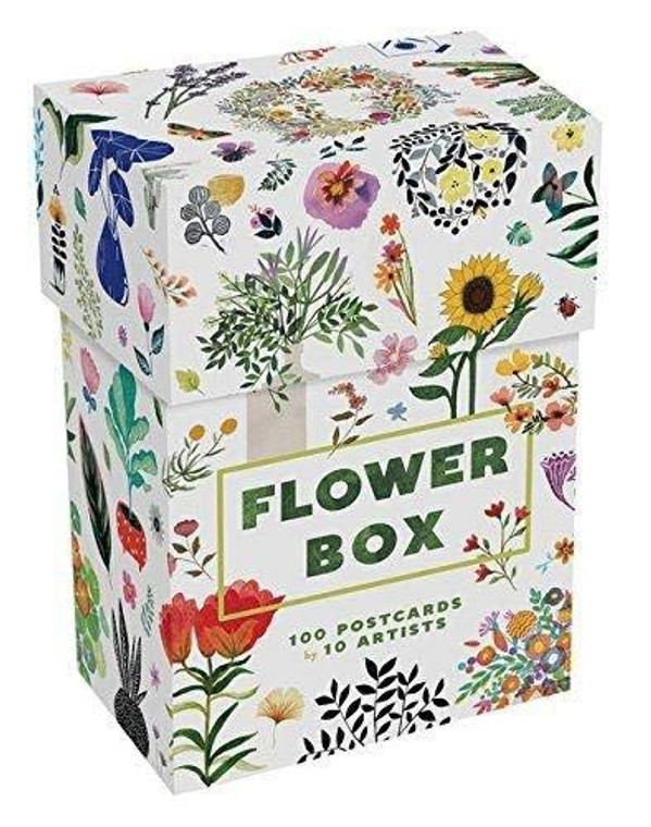 Flower Box Postcard Set