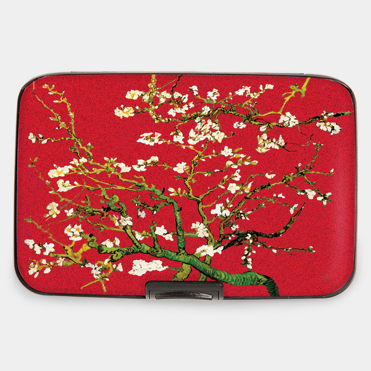 Van Gogh - Almond Blossom Red Armored Wallet