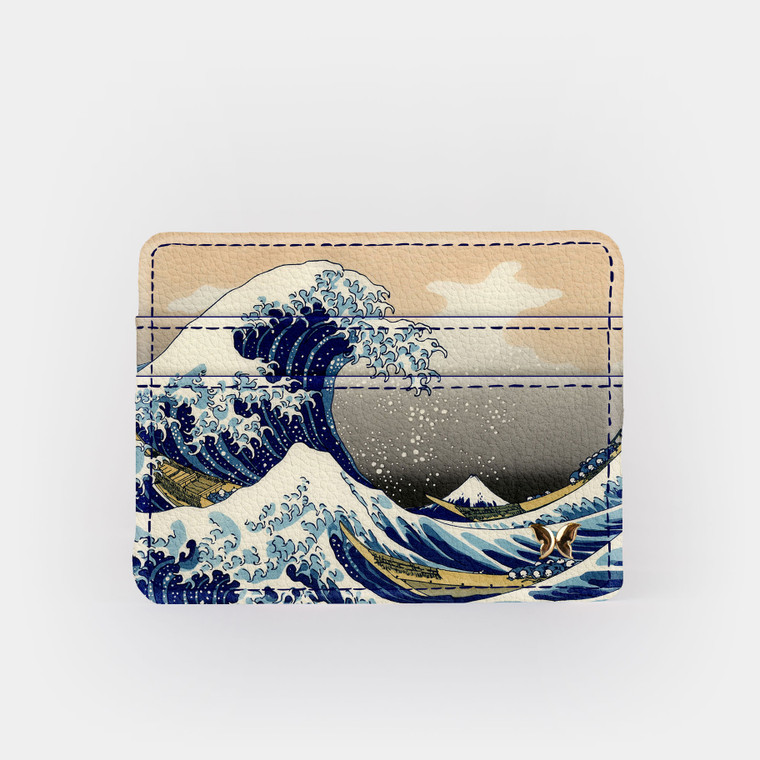 Great Wave Slim Wallet