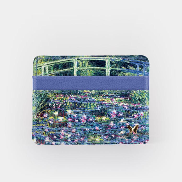 Monet Bridge Slim Wallet