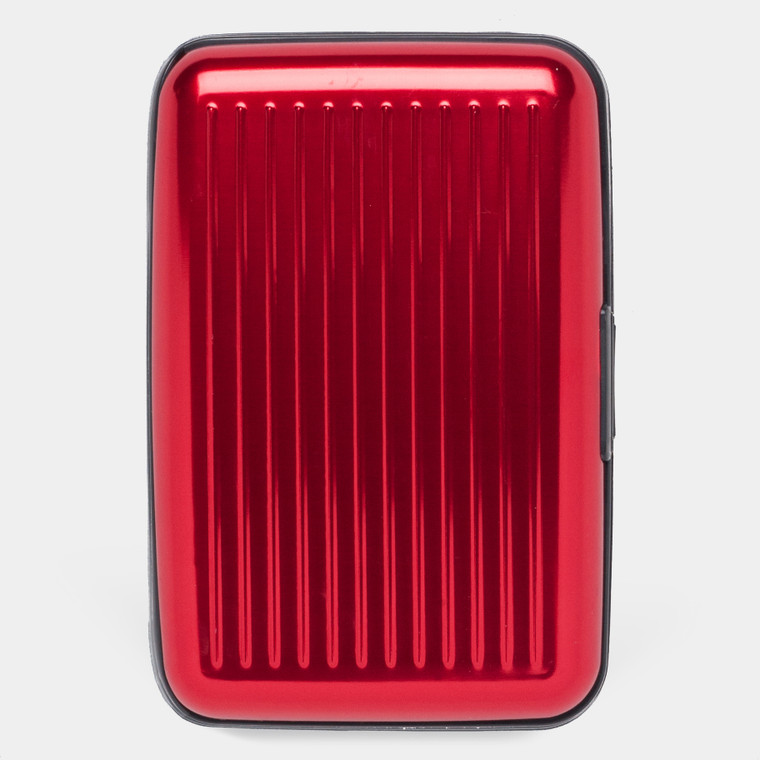 Solid Red Armored Wallet